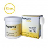PROTESIL Putty Standard, 12 баз по 1.5 кг (900 мл)